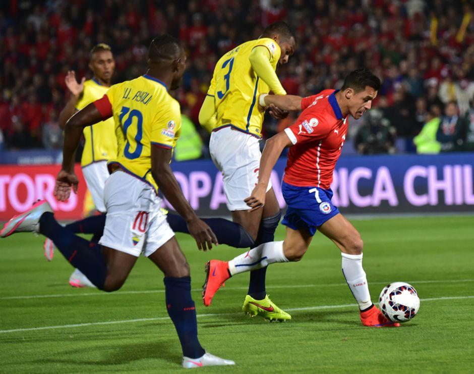 Chile - Ecuador - Copa América 110615