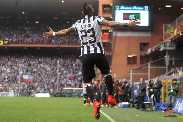 Sampdoria 0-1 Juventus: Vidal strike clinches Serie A title