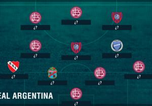 Lanús salió campeón y tiene a la mayoría de sus jugadores en esta selección.