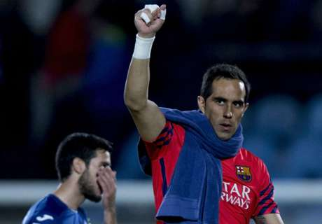 Bravo exit the right move for Barca