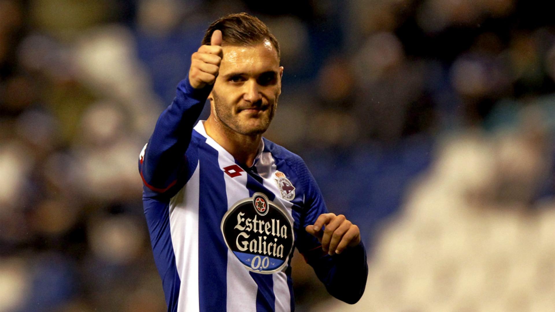 Lucas Pérez, Deportivo La Coruña