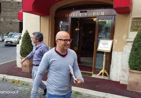 Sampaoli llegó a Barcelona