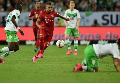 Ratings: Wolfsburg 1-1 Bayern (5-4 pens)