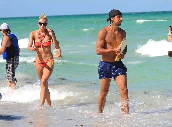 Sami khedira y su novia la modelo lena for Noticias de ultimo momento de famosos