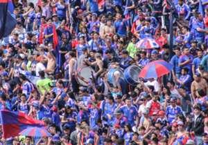 Una vez más, la pasión del hincha azul quedó reflejada en la previa del duelo ante Colo Colo. Este domingo, se viene la 180° edición del clásico.