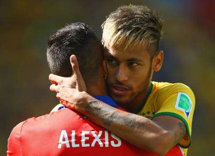 Neymar brings joy to football - Alexis