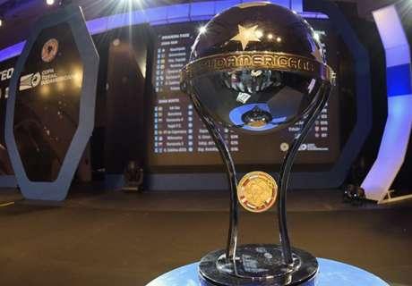Se sorteó la Copa Sudamericana