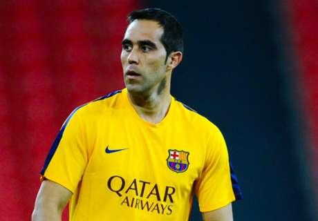 Barça, Bravo rétabli pour Las Palmas