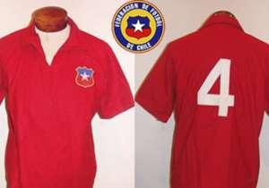 Jersey Piala Dunia 1962