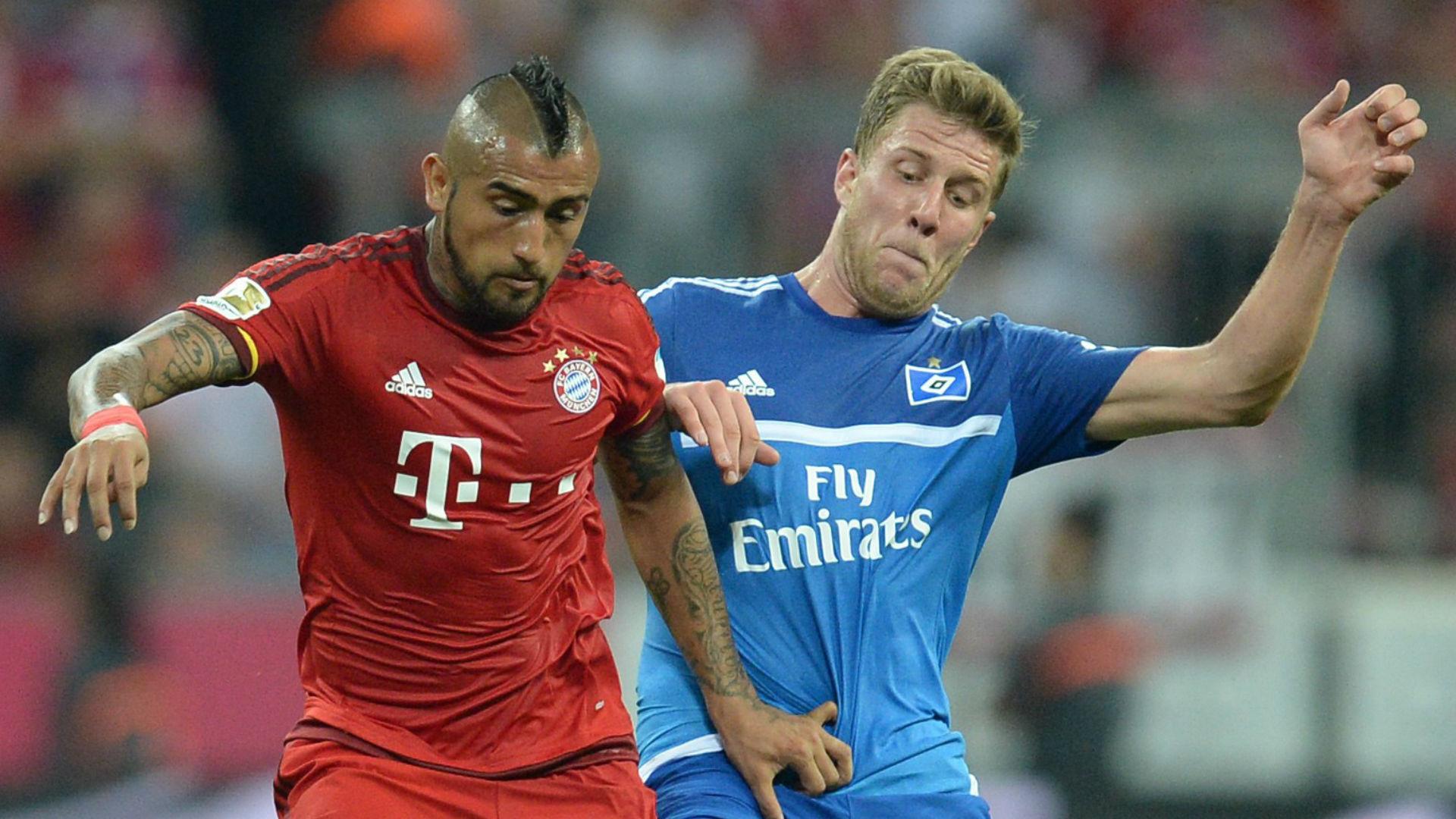 Tudo igual na Bundesliga: Bayern vence Hamburgo