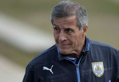 Tabárez completó la lista de Uruguay