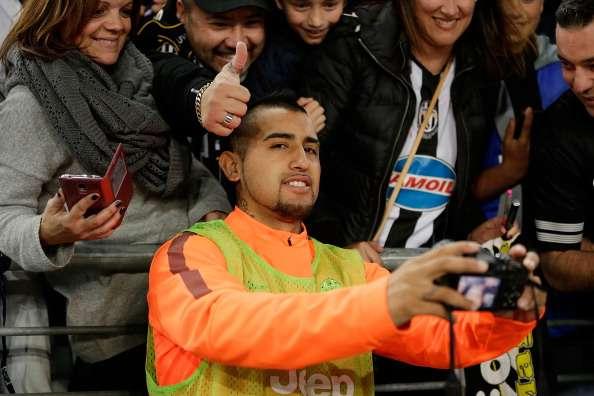 Vidal returns to training but again fails to confirm Juventus future