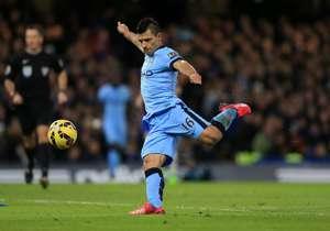 26 GOLES. Sergio Agüero (Argentina): Manchester City (ING)