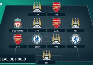 Andrea Pirlo, le talentueux milieu italien, a dévoilé son onze idéal du championnat anglais pour le site ShortList.com. Découvrez cette dream team !