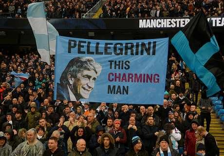 Homenaje a Pellegrini en el City