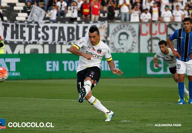 Quiebre definitivo en colo colo for Esteban paredes 7