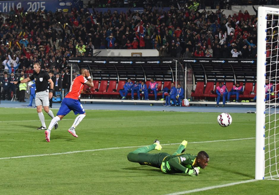 Chile - Ecuador - Copa América - 110615