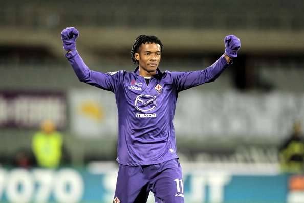Fiorentina want €50m for Barcelona target Cuadrado