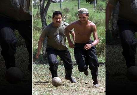 El fútbol les pacifica el alma