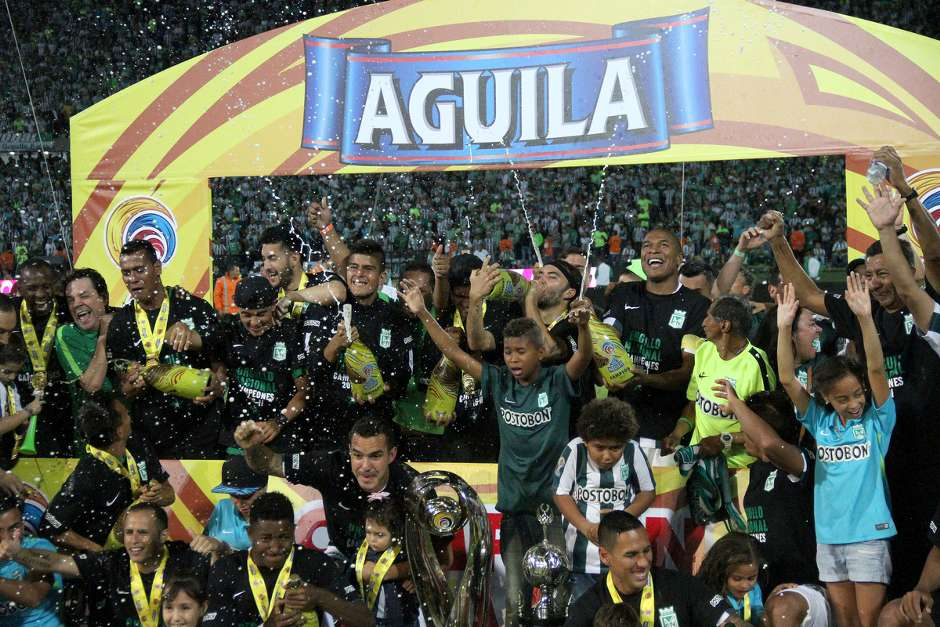 GALERÍA: Los campeones del fútbol profesional colombiano