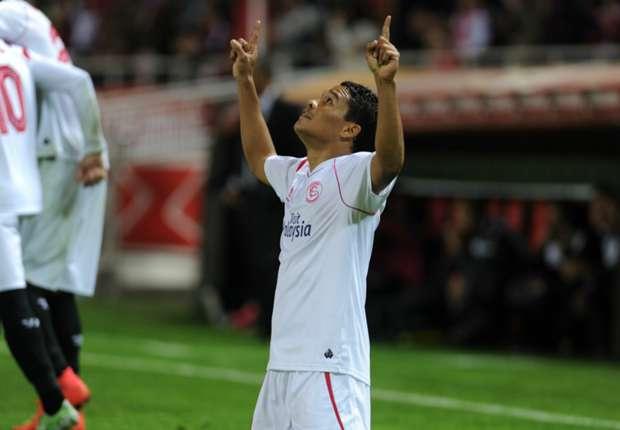 Carlos Bacca le dio el triunfo al Sevilla
