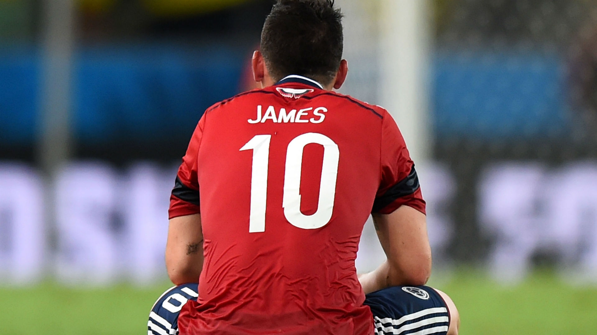 James Rodriguez Colombia 2014