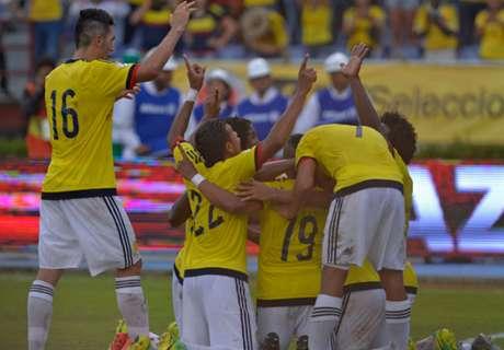 Colombia cayó en el ranking FIFA
