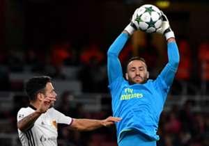 David Ospina fue titular y estuvo de nuevo sólido en el arco del Arsenal que se impuso en casa 2-0 sobre el Basel