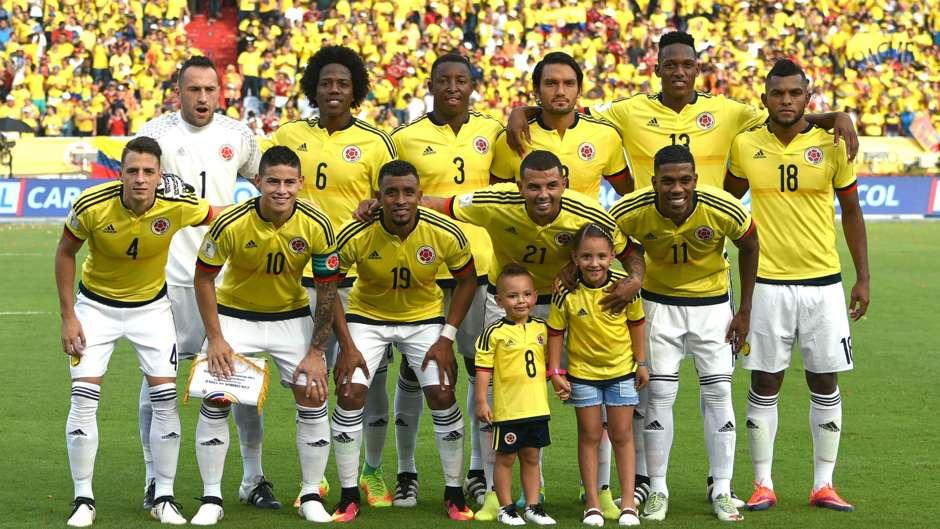 Nómina Colombia vs Chile Eliminatoria 10112016