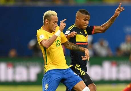 Colombia vs Brasil, en duda