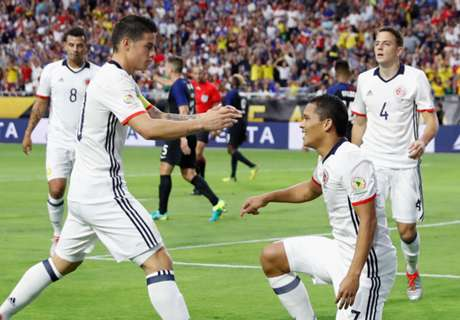 Bacca secures Colombia third place