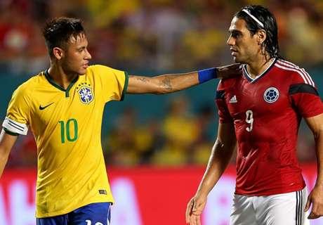 Neymar lidera la lista de Brasil