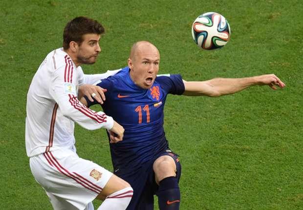 Arjen Robben: Louis Van Gaal me pidió que me fuese al Manchester United
