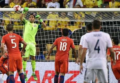 Colômbia e Chile fora da Copa?