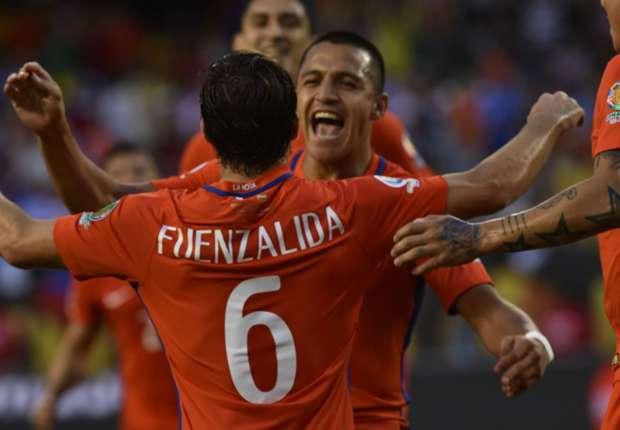 Chile le ganó a Colombia y vuelve a jugar la final ante Argentina