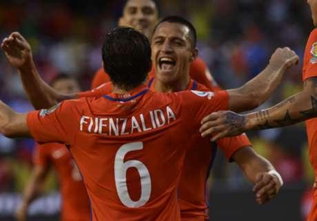 Copa América: Colombia 0-2 Chile
