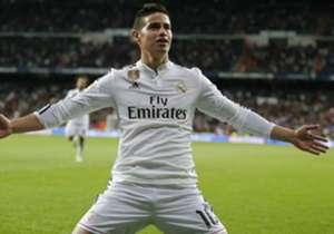 JAMES | 4 | Se echó al equipo encima en la segunda mitad. El colombiano rubricó su actuación con un bello tanto.