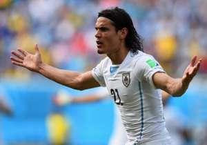 """Edison Cavani, jogador do Uruguai: """"Jamaica é uma equipe que, como todos os africanos, tem a forma física como grande qualidade."""""""