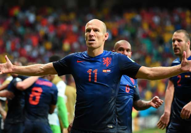 MAN OF THE MATCH Spanyol 1-5 Belanda: Arjen Robben