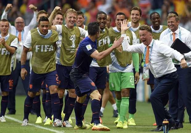 Van Gaal kaget timnya menang besar.