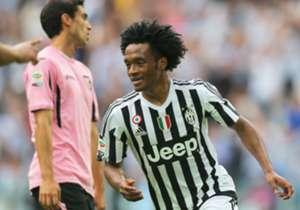 Juan Guillermo Cuadrado disputaría el Grupo H en caso de regresar a la Juventus contra Sevilla, Lyon y Dinamo de Zagreb