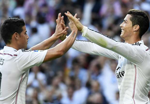 Cristiano Ronaldo (r.) besorgte den wichtigen Ausgleich