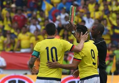 Los goleadores de Colombia