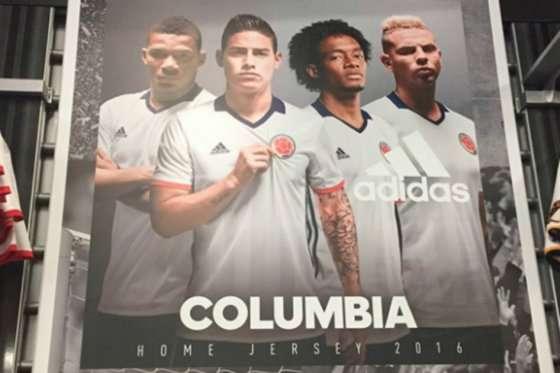 adidas se disculpó con Colombia