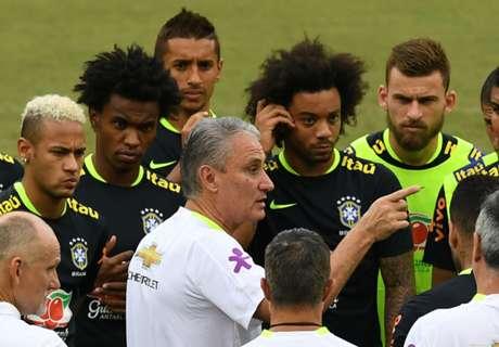 Tite llama a Diego y Robinho