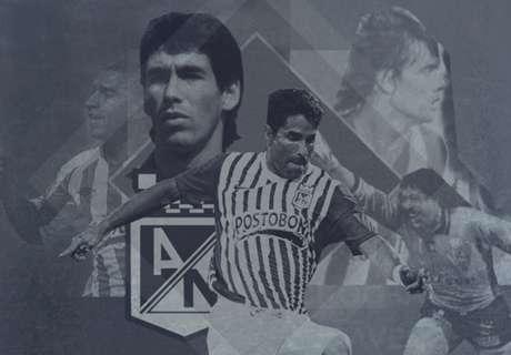 Los 20 más grandes de Atlético Nacional