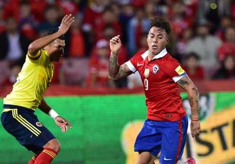 สะดุด! ชิลีโดนโคลอมเบียไล่เจ๊า 1-1 คัดบอลโลกอเมริกาใต้