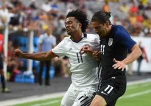 Cuadrado Vs Bedoya Colombia Vs Usa (Copa America)