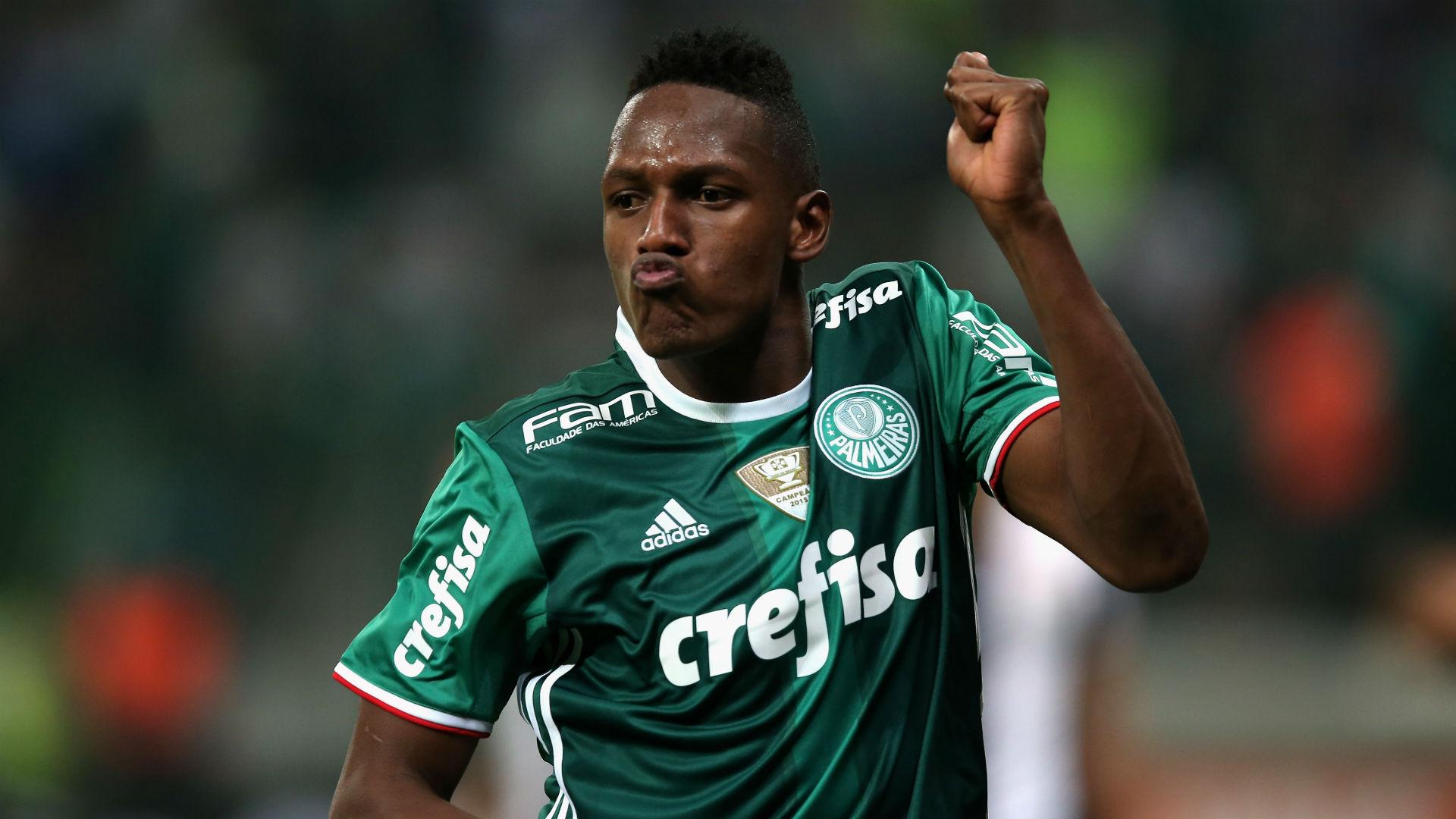 Yerry Mina Palmeiras 2016