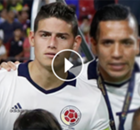 ►James se quitó la medalla